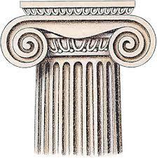 Resultado de imagen de capitel jónico